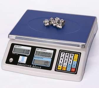 Balanza de escritorio contadora de piezas cap. max. 30kgx1g, modelo:JSK