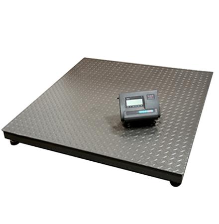 Balanza de Piso 1x1.2 mts, cap. max. 3 ton.