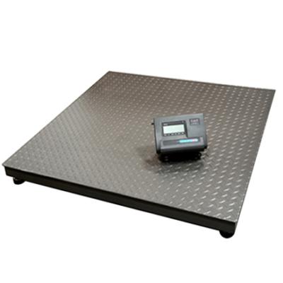 Balanza de Piso 1x1mt, cap. max.1 ton.